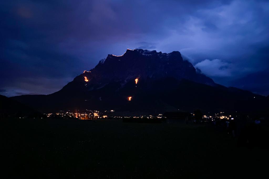 Bergvuren Tiroler Zugspitz Arena