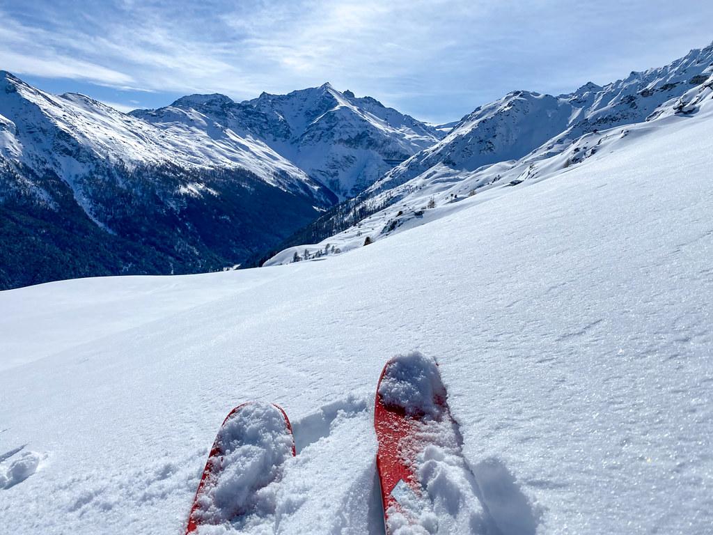 off-piste skiën