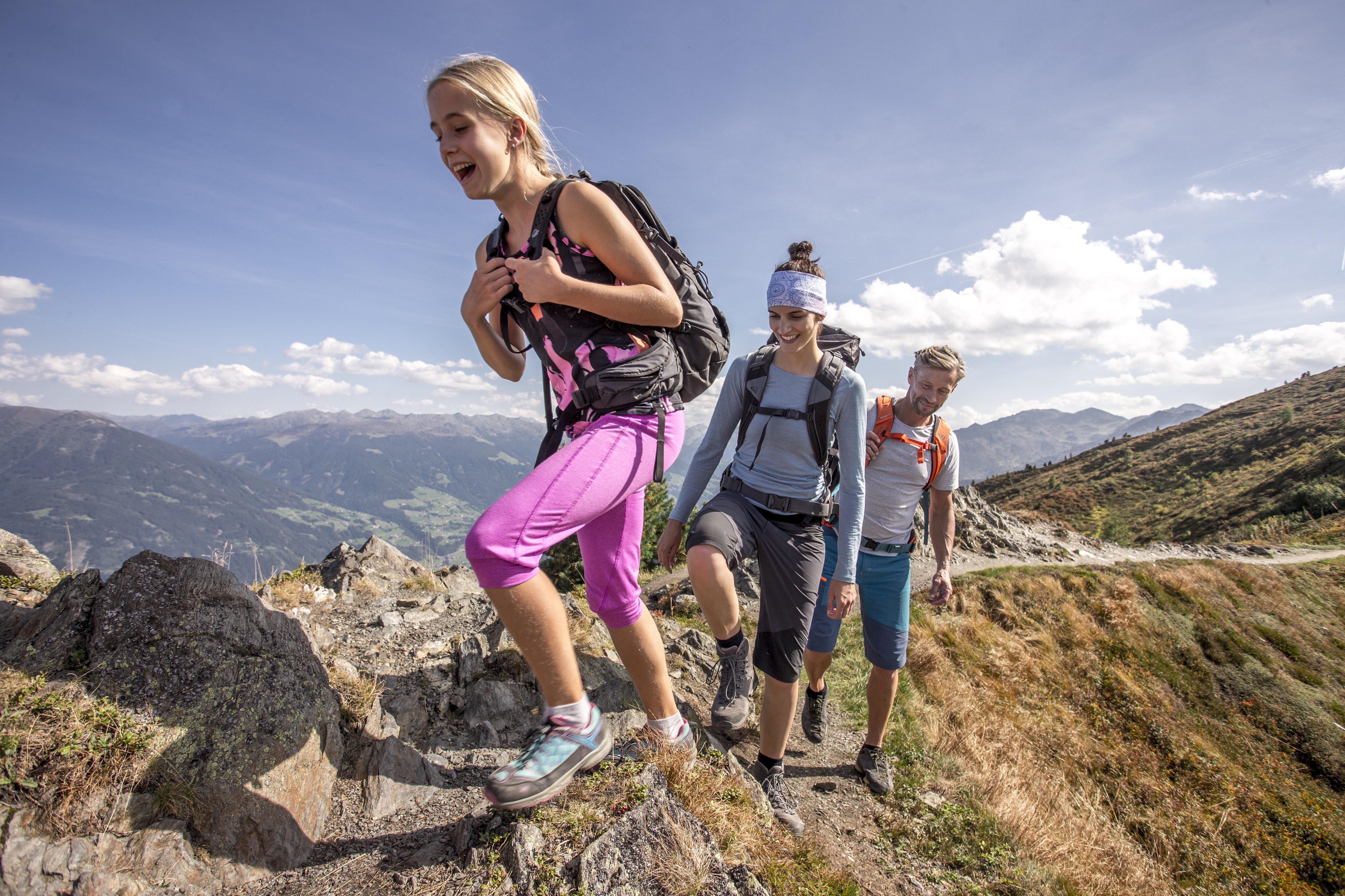 Wandern mit der Familie im Zillertal