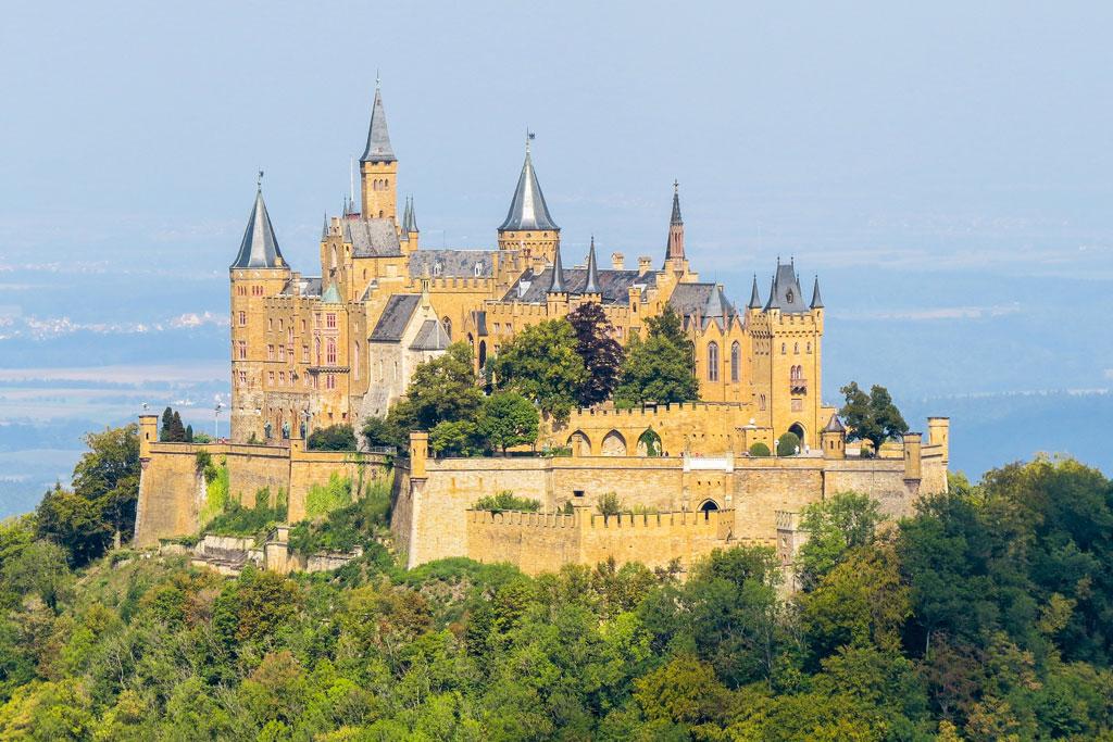 Burg Hohenzollern im Schwarzwald