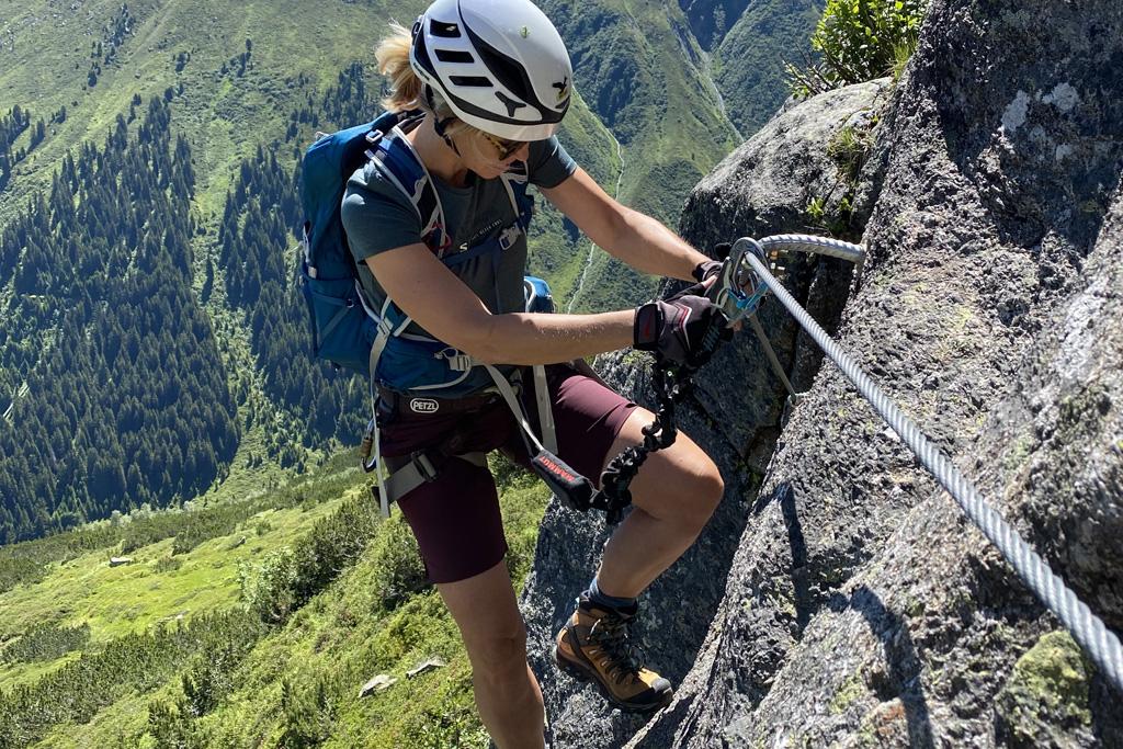 Klettersteig Galtür