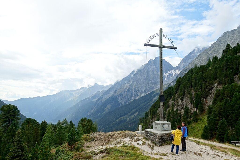 Gipfelkreuz Denkmal