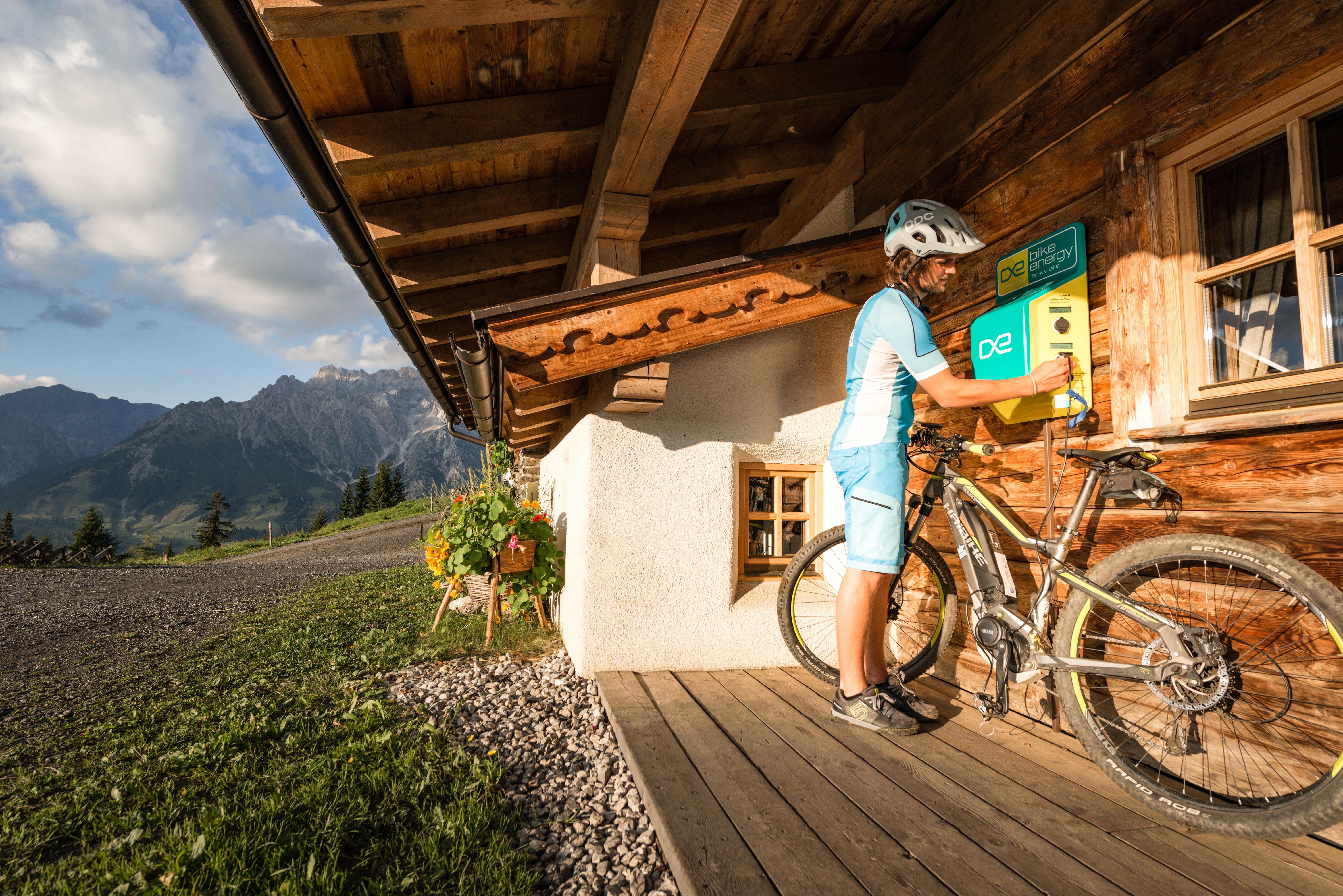 Aufladestation für E-Bikes