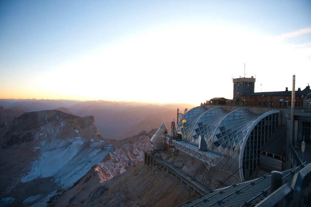 Aussicht Zugspitze