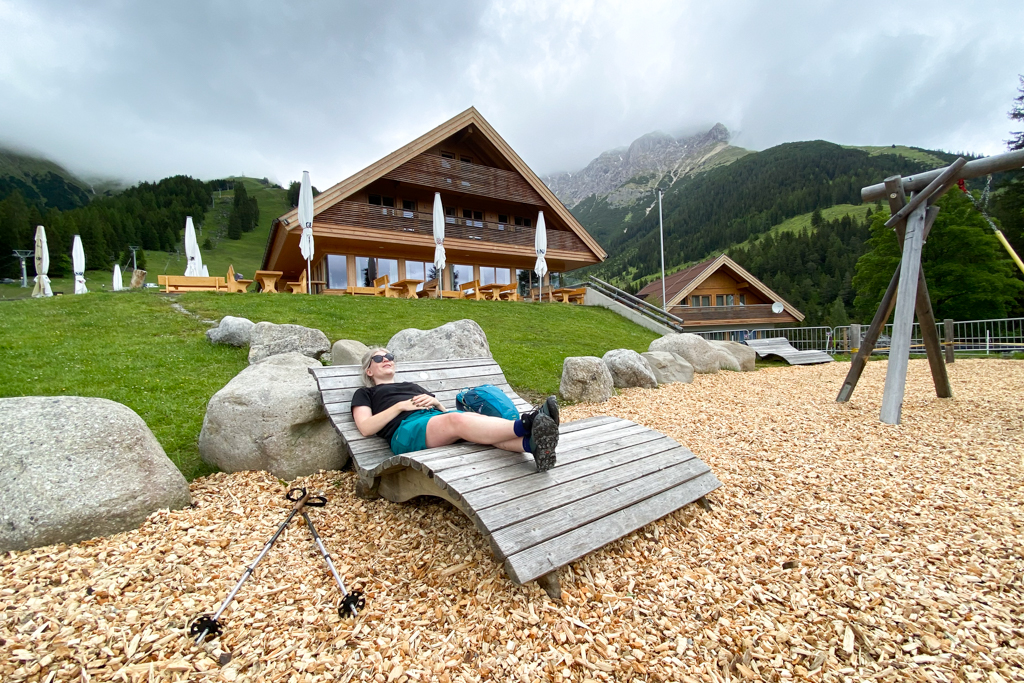 Berghütte in Imst