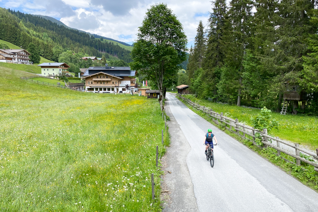 Fahrradfahren in Saalbach Hinterglemm