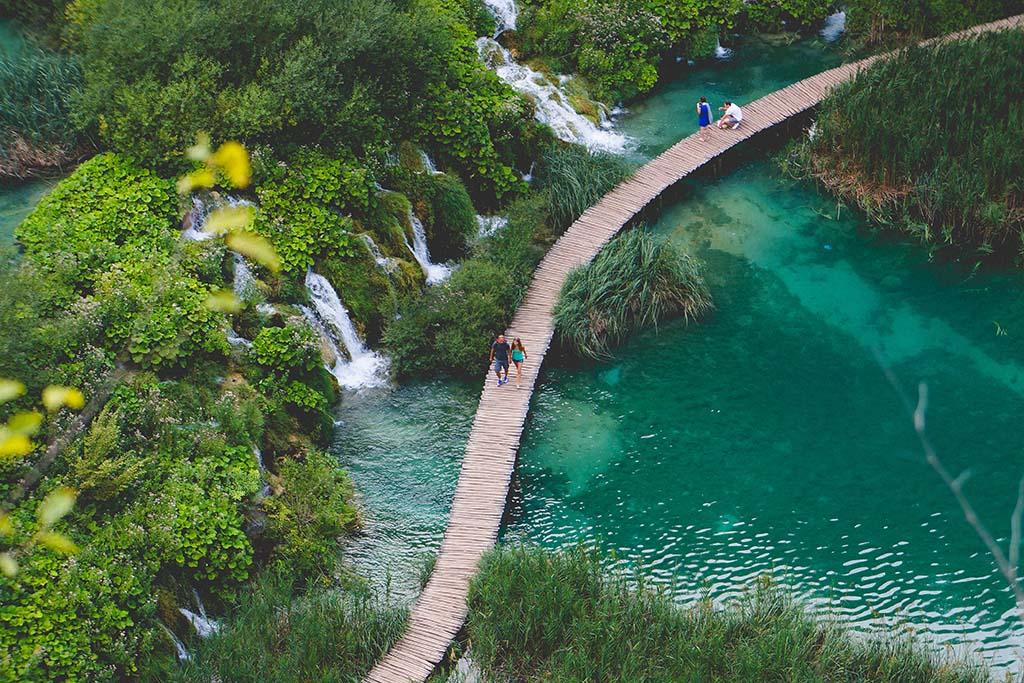 Plitvicer Seen Wege