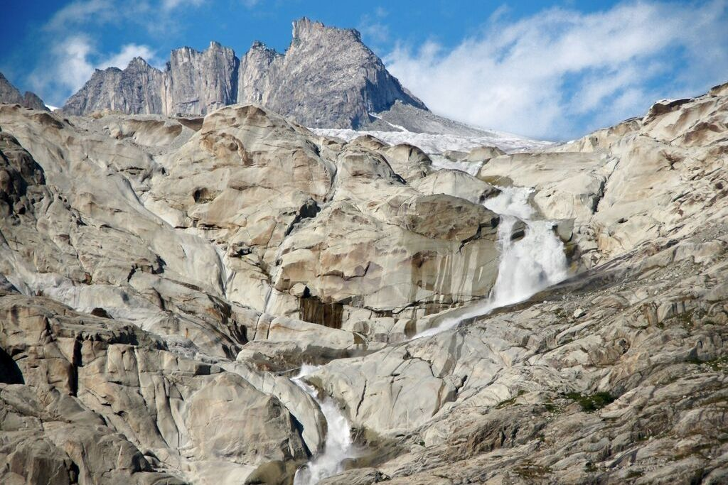 Wasserfall am Vier-Quellen-Weg