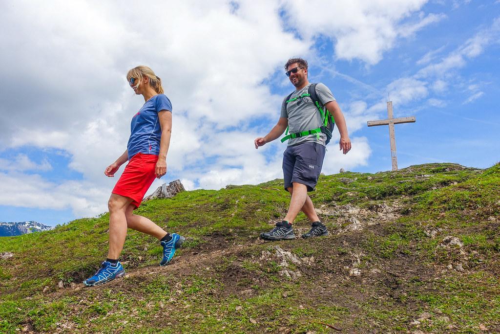 Wandern Berggipfel