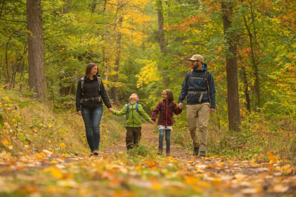 Wandern mit der Familie im Spessart