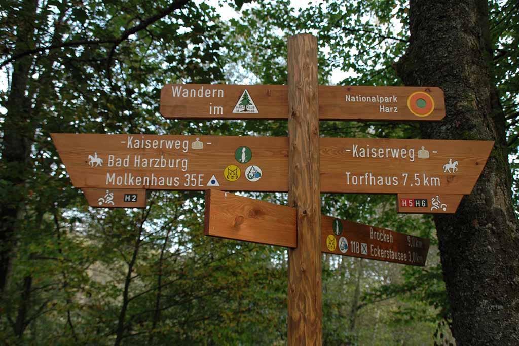 Wandern Bad Harburg Nationalpark Harz