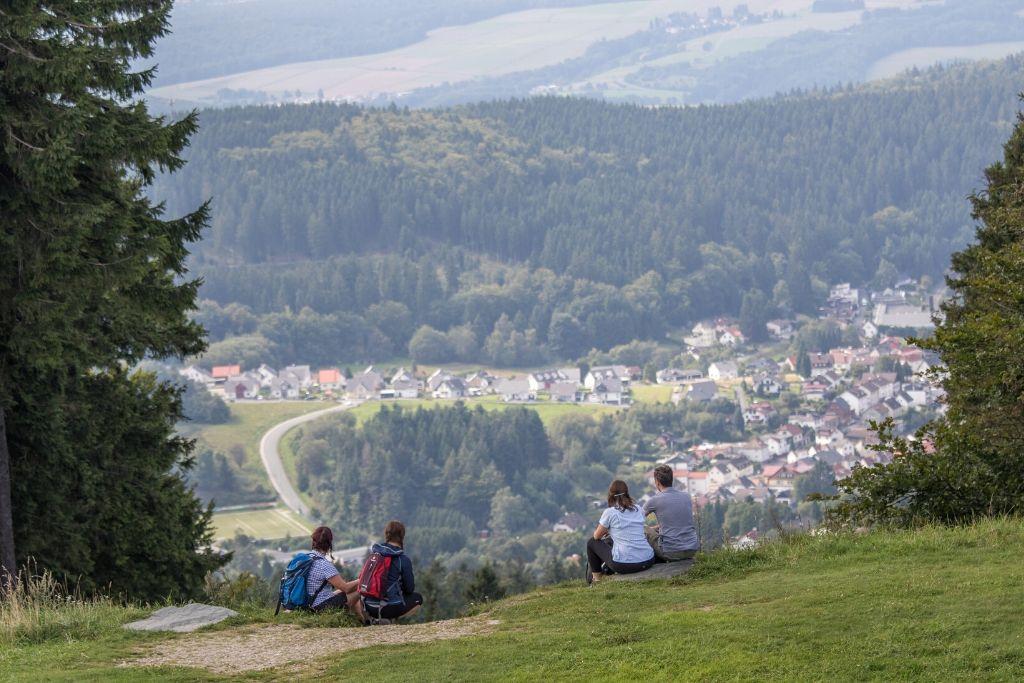Aussicht vom Großen Feldberg