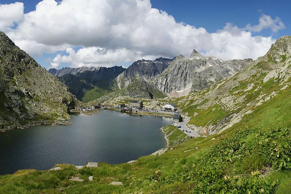 Zwitserland bergpas Sint-Bernard
