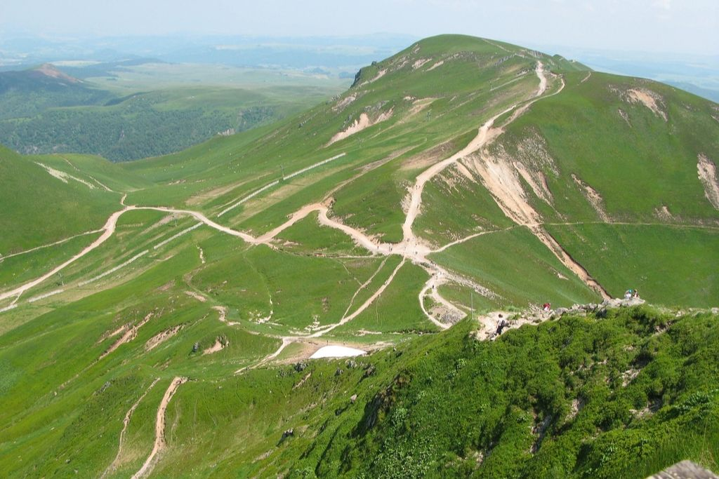 Vulkanwandern Auvergne