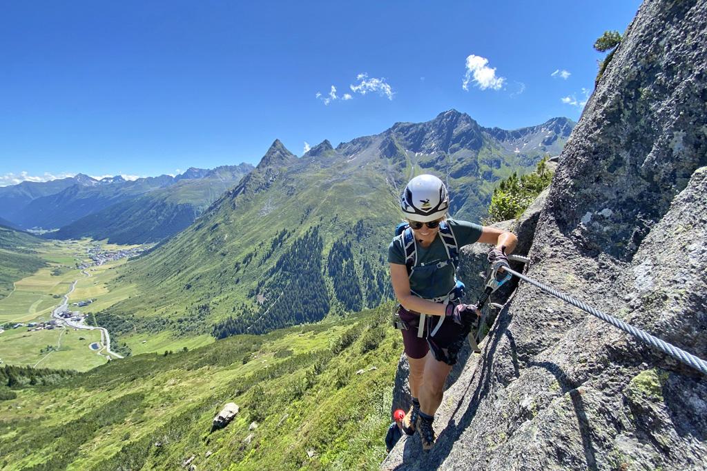 Klettersteig Little Ballun