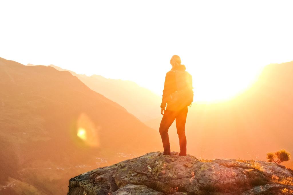 Sonnenaufgang Mittagskopf Kappl