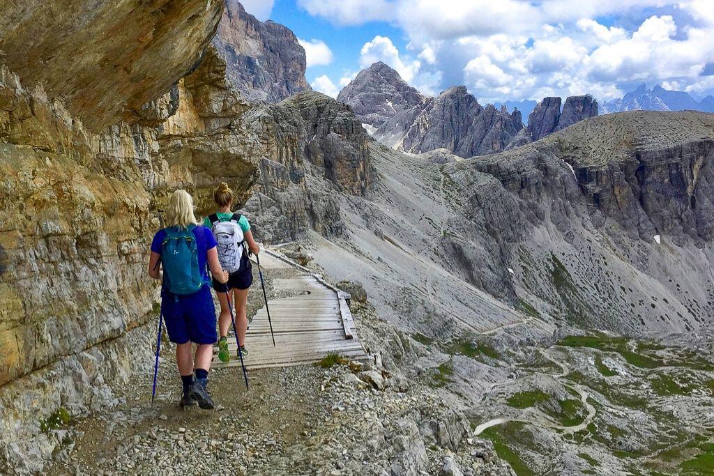 Wanderung durch die Alpen