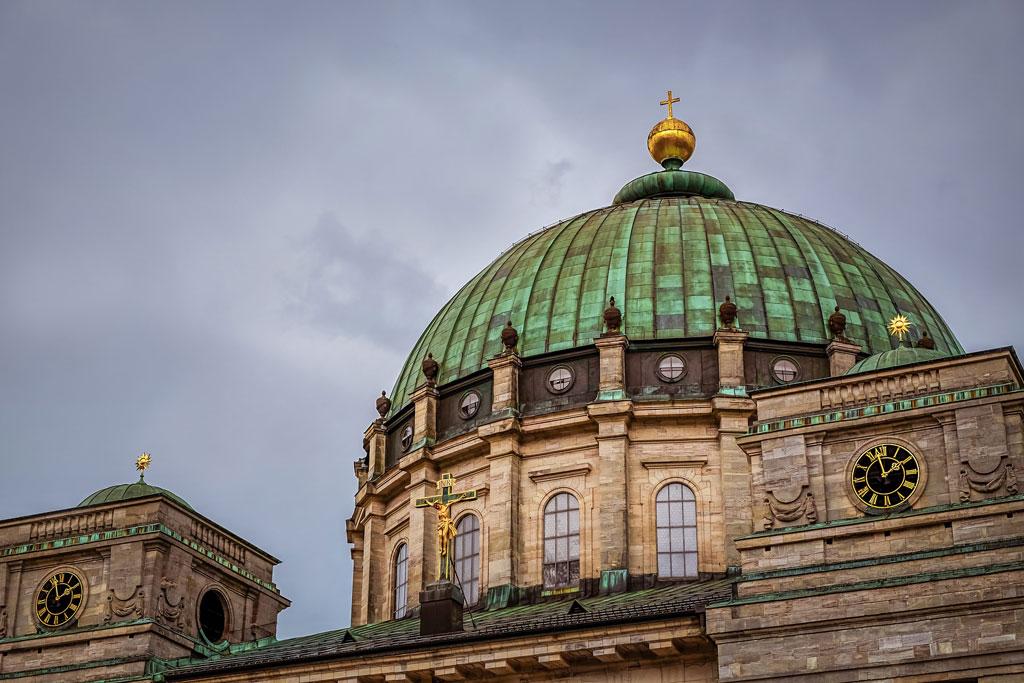 Die Kuppel vom Dom St. Blasius