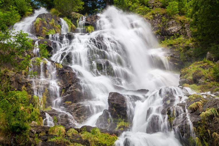 Todtnauer Wasserfälle im Schwarzwald