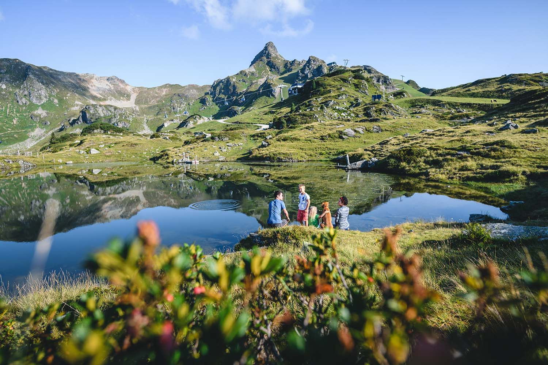 Bergsee Obertauern Sommerurlaub
