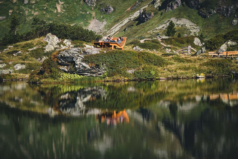 Bergseeschwimmen in Obertauern