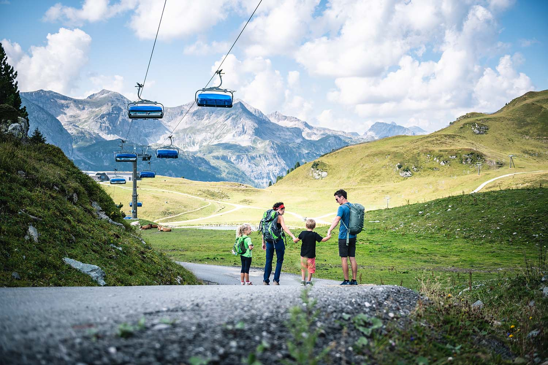Seilbahnwandern Obertauern