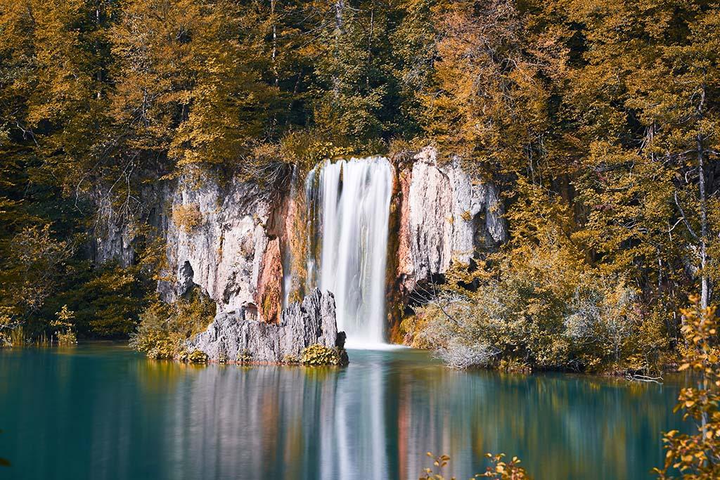 Plitvicer See Wasserfall