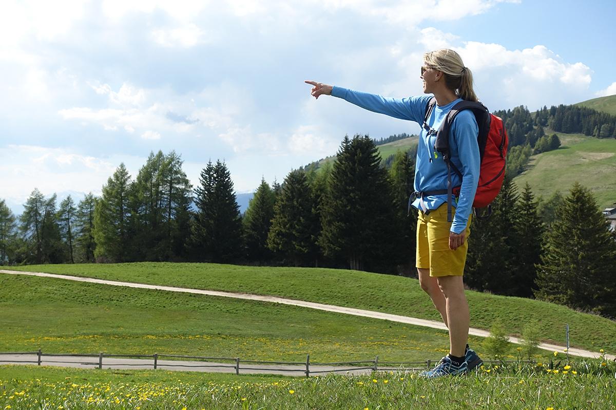 Wandershirt zum Wandern in den Bergen