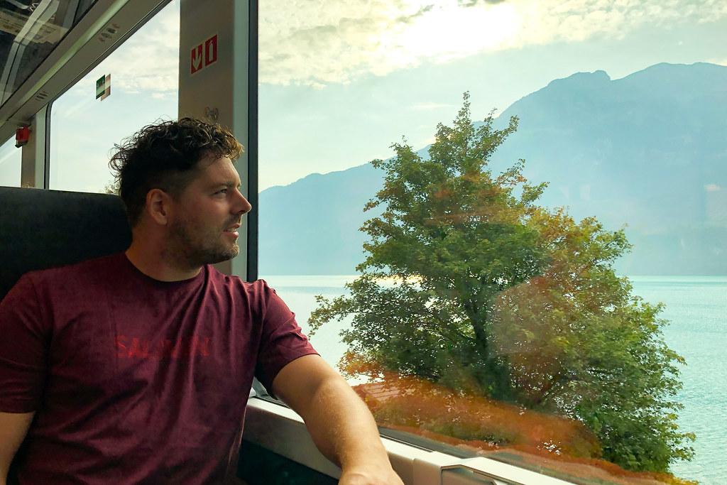 Trein Zwitserland