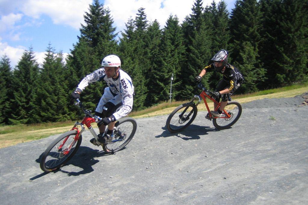 Biken im Bikepark