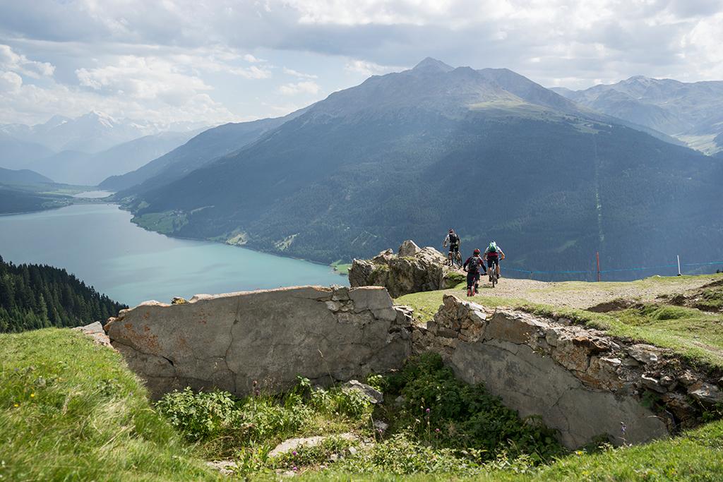 Mountainbiken Plamort Trail