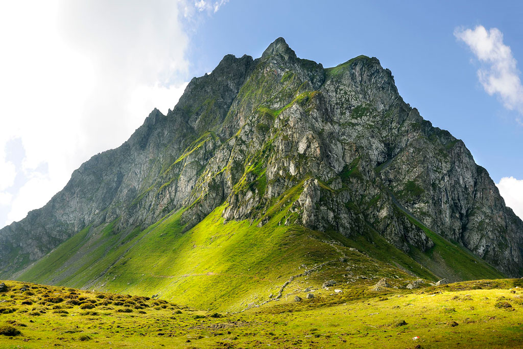 Saalbach wandelen Seven summits
