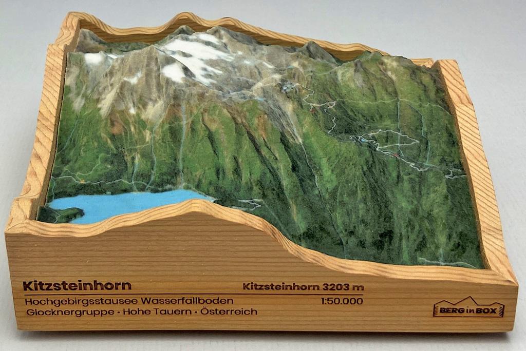 Bergmodell Kitzsteinhorn