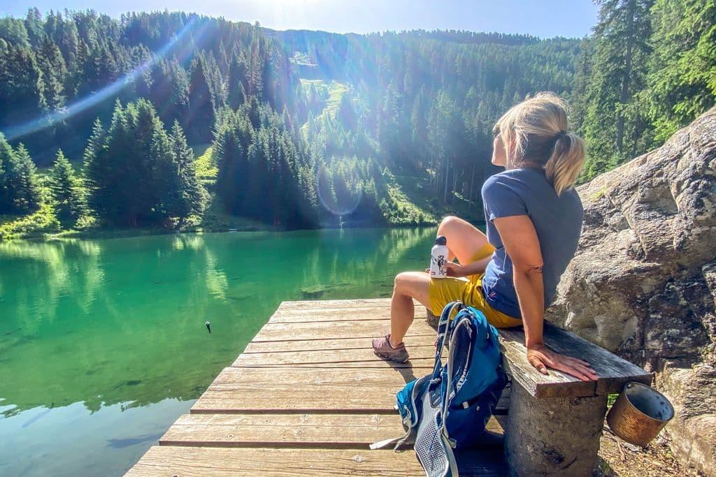 Genießen am Schwarzwassersee