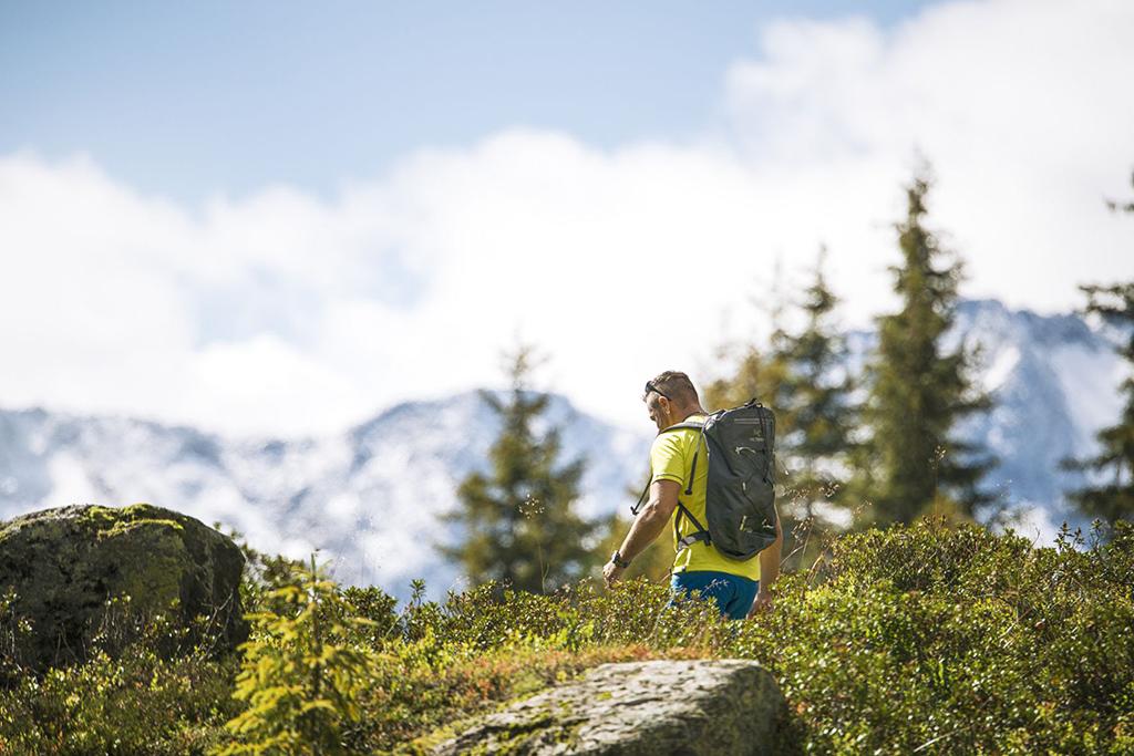 Wanderer Stubaier Höhenweg