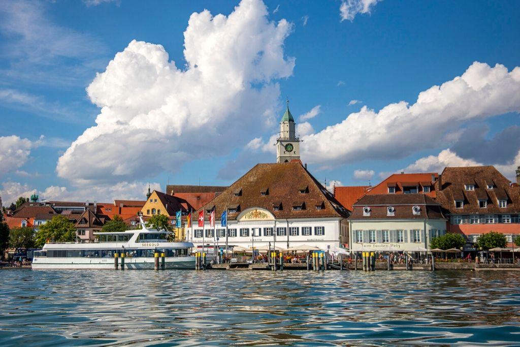 Seehafen von Überlingen am Bodensee