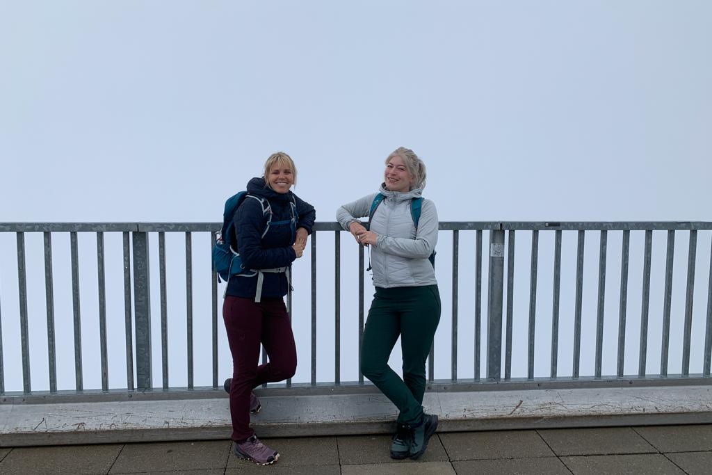 Top van de Zugspitze