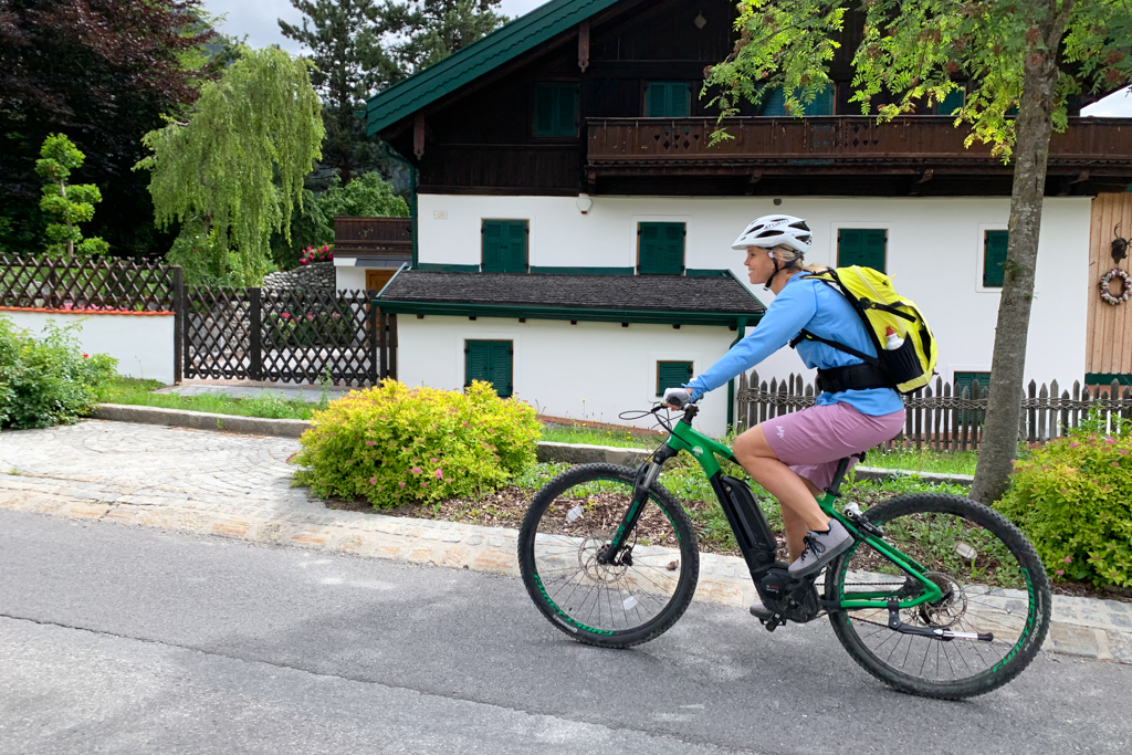 E-Bike fahren in Imst