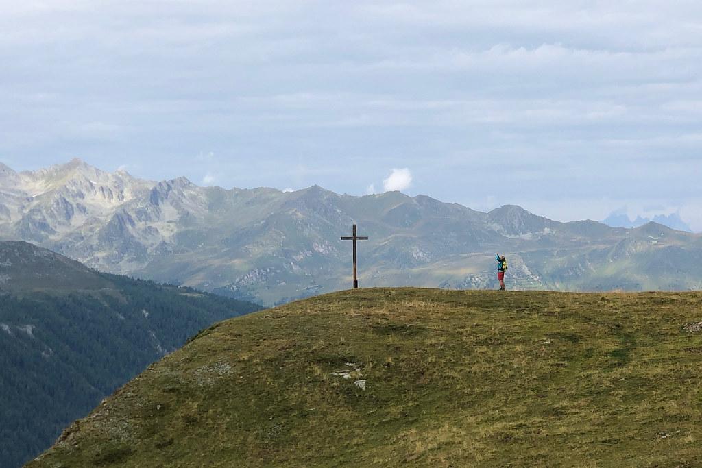 Bergkreuz fotografieren