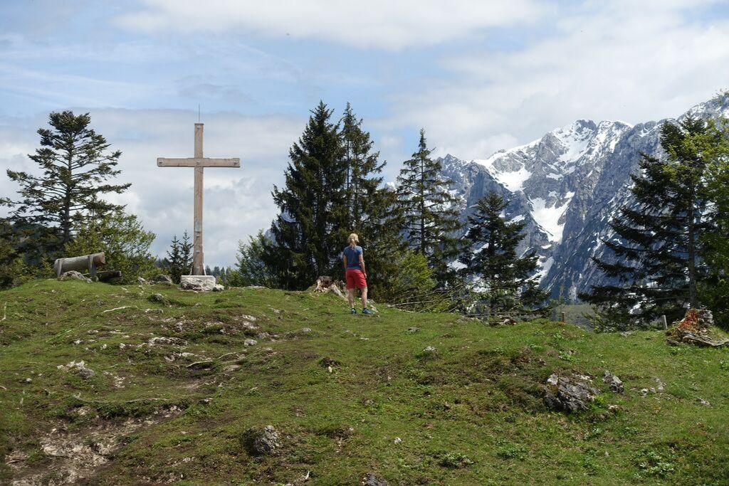 Persönliches Ziel am Gipfelkreuz