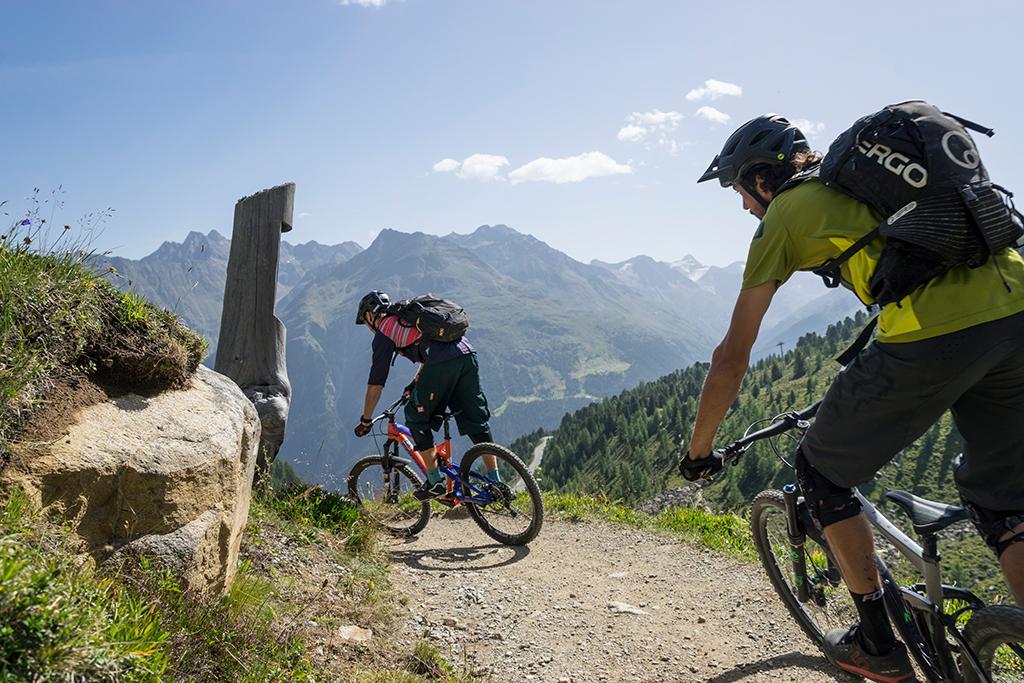 Mountainbiken Sölden